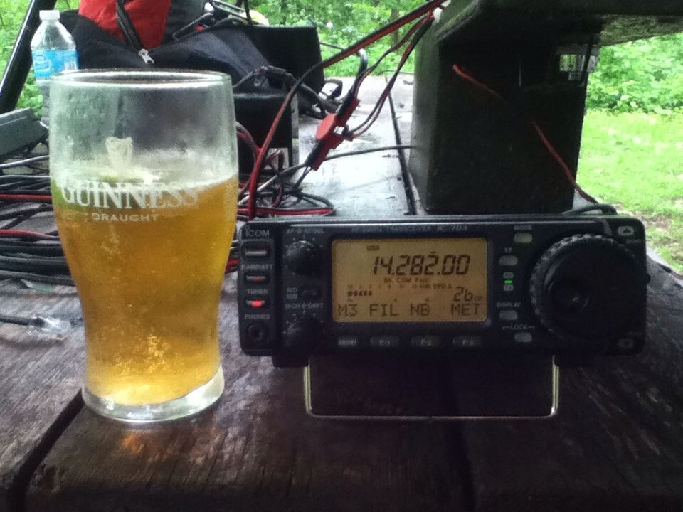 beer and radio